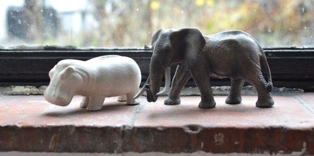 statut elephant decoration
